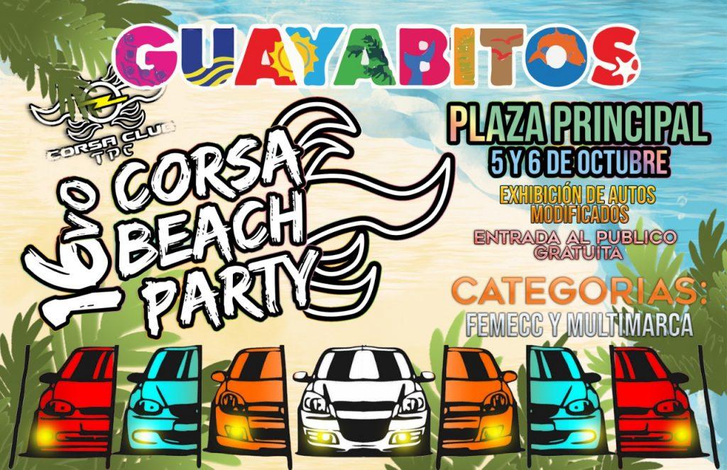 16 corsa beach party