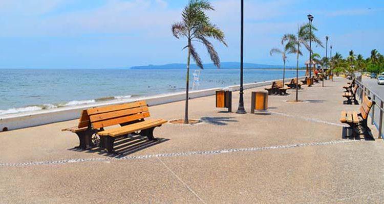 Malecón de Le Peñita de Jaltemba